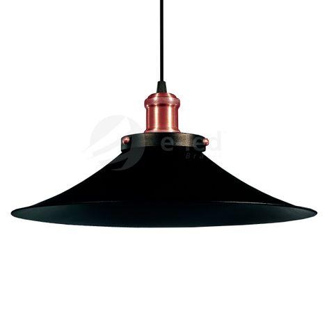 lustre-pendente-industrial-38cm-vintage-retro-nordic-loft-rose