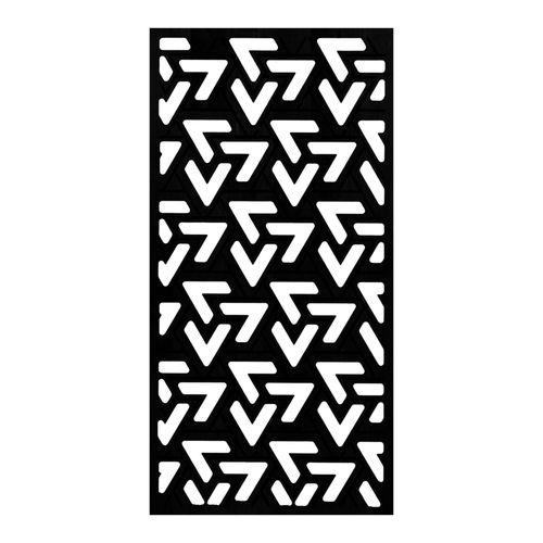 elemento vazado preto