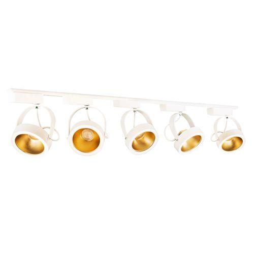 trilho-branco-e-dourado-com-5-spots-ar111