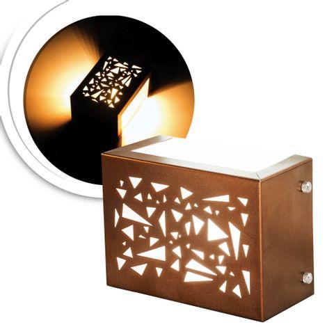 arandela-mosaic-cobre-com-led-quente
