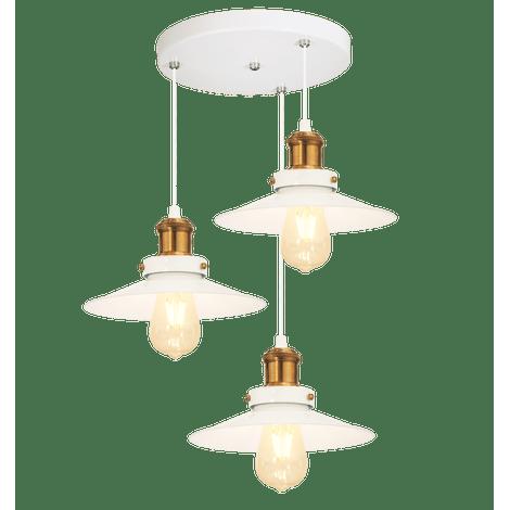 Pendente-triplo-Nordic-branco-com-cobre-na-canopla-redonda
