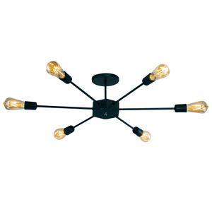 Lustre-pendente-modelo-sputnikpara-ambientes-internos-na-cor-preto