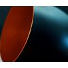 lustre-cone-de-aluminio-preto-com-cobre-para-ambientes-internos