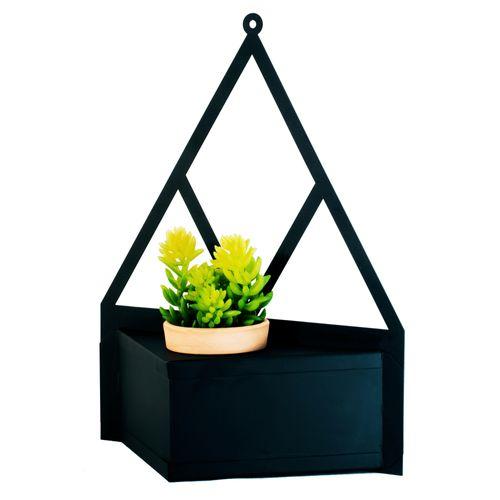 porta-vaso-preto-de-parede-preto-para-decoracao-de-ambientes
