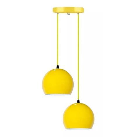 Lustre-pendente-meia-bola-amarelo-gema