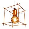 Lustre-cubo-aramado-pendente-cobre-para-ambiente-internos