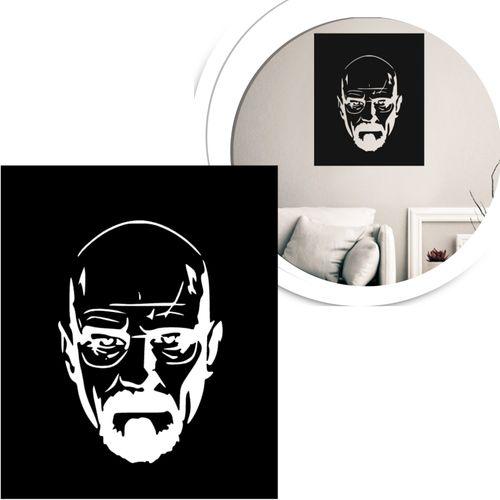 quadro-vazado-preto-heisenberg