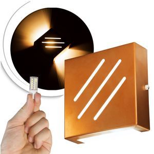 arandela-cobre-frisada-com-led-2700k