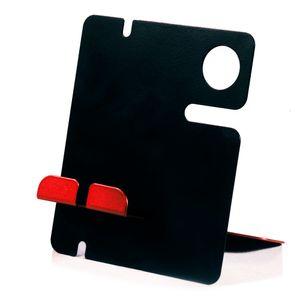 porta-celular-de-mesa-preto-e-vermelho