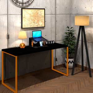 mesa-escrivaninha-preta-com-cobre