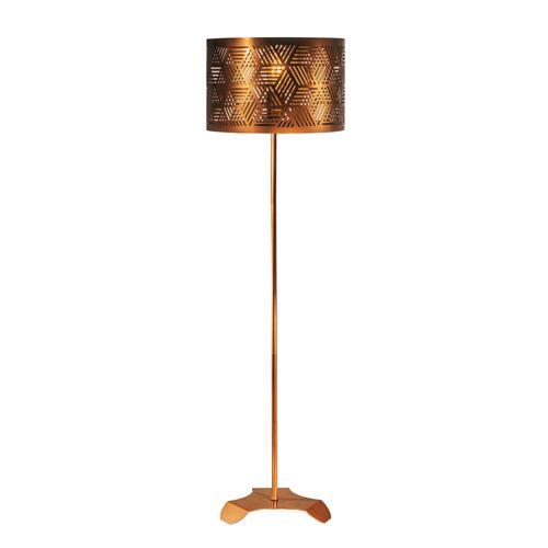 luminaria-de-chao-tubo-com-cupula-vazada-cobreada
