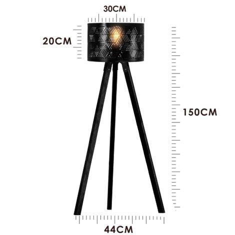 luminaria-tripe-de-madeira-com-cupula-vazada-preta