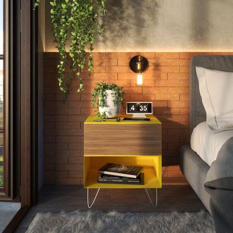 Mesa-de-cabeceira-em-aco-amarela---C01