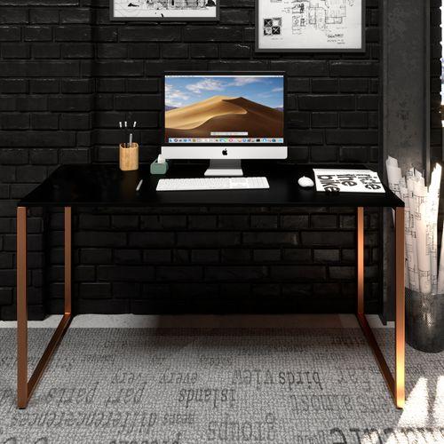 mesa-preta-com-cobre-de-150cm-moderna